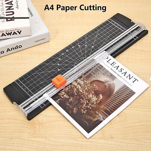 A3/A4 Paper Cutting Machine Portable A4 Paper Cutter Art Trimmer Photo Scrapbook Blades DIY Office Paper Trimmer Cutting Machine