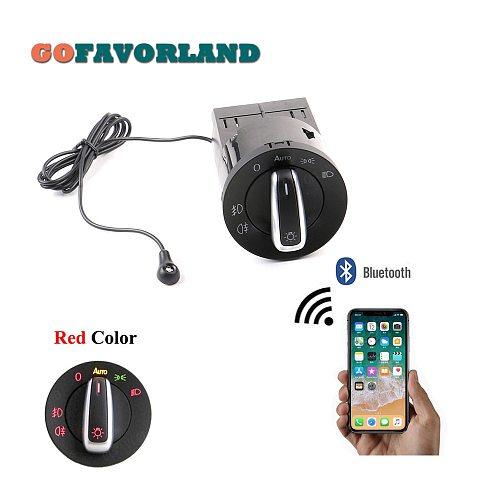 AUTO Headlight HeadLamp Switch Light Sensor Module Bluetooth Upgrade For VW Golf MK4 Jetta 4 Passat B5 Polo Bettle