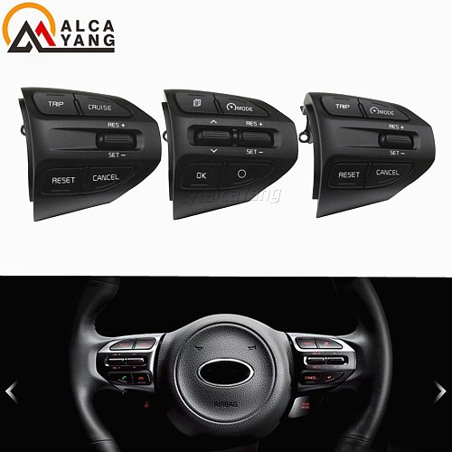 Fast delivery ! For Kia Rio (K2 ) 2016-2017 2018 2019 cruise control buttons switch steering wheel buttons .