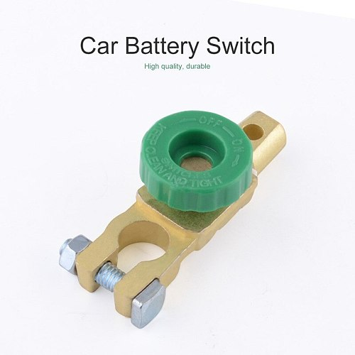 Car Battery Terminal Link Switch Car Battery Disconnect Switch Power Isolator Cut Off Kill Switch For Marine Auto ATV Car For VW