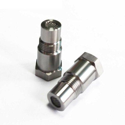 Car Oxygen O2 Sensor Adapter CEL Fix Check Engine Light Eliminator M18*1.5 Extender Adapter Fitting Eliminator Test Pipe