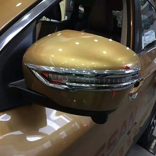 For NISSAN QASHQAI J11 2014 2015 2016 2017 2018 2019 2020 design accessories side mirror cover