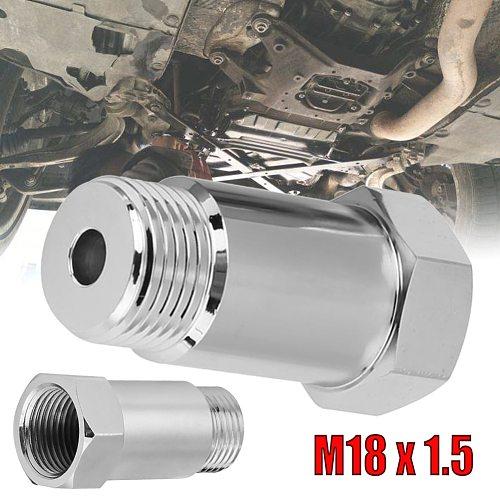 SALE High-grade NICKEL Plated Steel 1Pcs Φ45mm 02 O2 Oxygen Sensor Extension Spacer extender M18x1.5 Bung Adapter CEL Fix  CSV