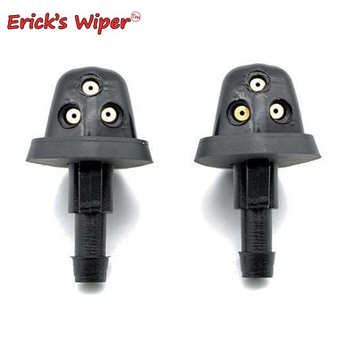Erick's Wiper 2Pcs/lot Front Windshield Wiper Washer Jet Nozzle For Suzuki Grand Vitara MK2 1998 - 2005