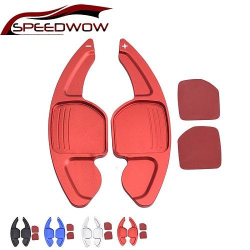 Car Steering Wheel Extension Shifters Shift Aluminum Shift Steering wheel For AUDI A3 S3 A4 S4 B8 A5 S5 A6 S6 A8 R8 Q5 Q7 TT DSG