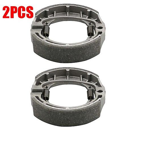 Front / Rear Brake Shoes Braking pads Water Grooved For Honda QA50 Z50 QA50 C70 CL70 CT70 CA200 CT200 CH125 CH150 CB125 CL125