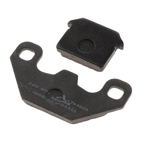 1 Set Black Brake Pads For Apollo SDG 50 70 110 125 140 cc SSR Demon Stomp Pit Bike Quad