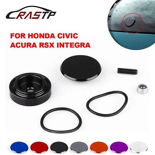 RASTP-1 Set Aluminum Car Rear Wiper Delete Kit Plug Cap for Honda Universal Car Accessories RS-ENL016