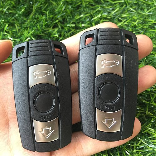 Remote Key Shell For BMW E61 E90 E82 E70 E71 E87 E88 E89 X5 X6 For 1 3 5 6 Series Replacement 3 Button Smart Car Key Case Cover