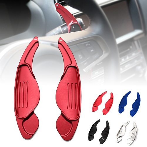 Car Shift Paddles For Jaguar XF XE XJ F-PACE F-TYPE X760 X260 X761 X351 Steering Wheel Shifter Extension Sticker Accessories