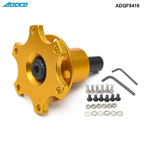 ADDCO Off Quick Release Boss Kit Weld On 6 Bolt Fit Moslty Steering Wheels ADQF5416