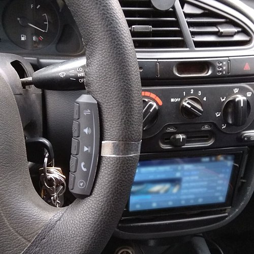 SPEEDWOW Universal Car Steering Wheel Remote Control Buttons Car Radio DVD GPS Player Multi-function Wireless Controller
