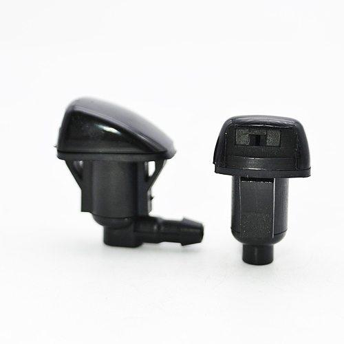 Erick's Wiper 2Pcs Front Windshield Wiper Washer Jet Nozzle For Toyota Corsa ist Corolla Spacio 121 Verso Land Cruiser Prado 120