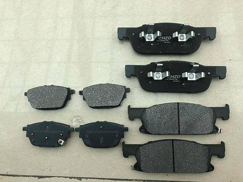 Front / Rear Brake pads set auto car PAD KIT-FR RR DISC BRAKE for Chinese GAC GS8 SUV Automobile part
