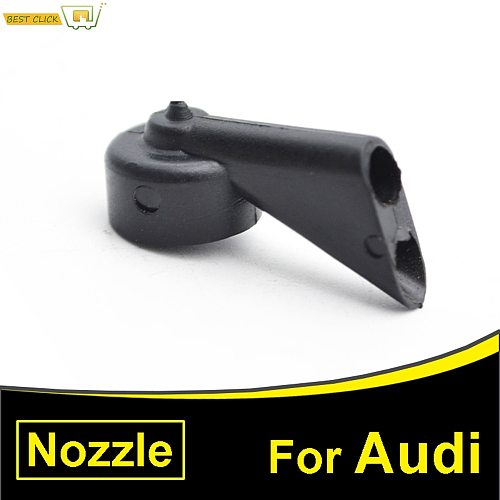 1PC Rear Windscreen Windshield Wiper Washer Jet Nozzle For Audi A1 A4 Avant B6 Estate B7 Allroad B8 A3 S3 A6 C6 Q7 Q5 SQ5