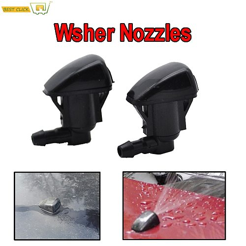 Misima x2 Front Windscreen Wiper Washer Jet Nozzle For Toyota Land Cruiser Prado J120 120 Corolla Verso E121 Spacio 2003