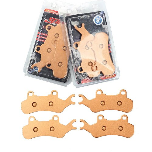 Dasbecan ATV Sintered Front Rear Brake Pad For Can-Am Maverick X3 Max 4x4 XRS DPS XDS 2017 2018 2019 Motorcycle Disc Brake Pads