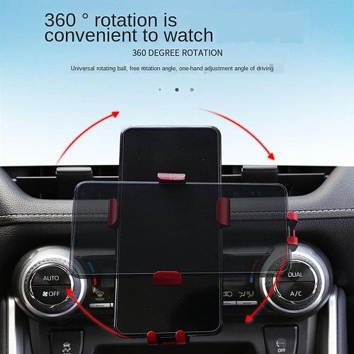 For Toyota RAV4 2019 2020 XA50 Special Buckle Mobile Phone Bracket Accessories