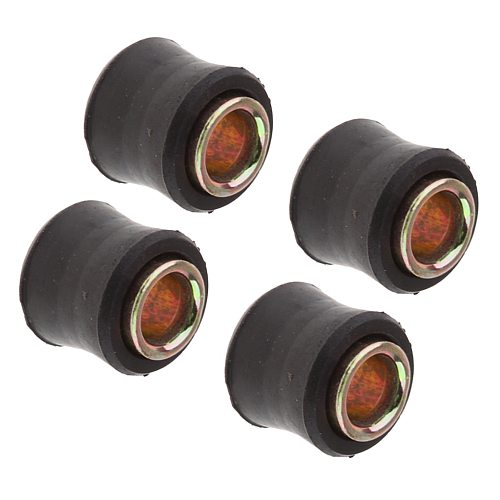 4x Motorcycle Suspension Shock Absorber Rubber Bushing Mounting 10mm
