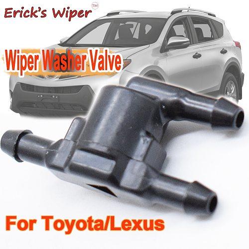 Erick's Wiper 1PC Windshield Wiper Washer Non Return Check Valve For Toyota 4Runner Camry Corolla Highlander Land Cruiser J150