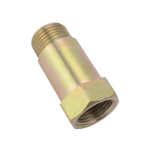 SPEEDWOW M18*1.5 O2 Oxygen Sensor Bung Test Pipe Extension Extender Oxygen Sensor Adapter