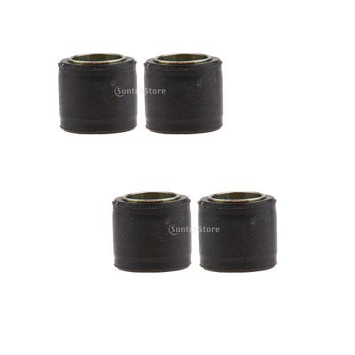 4pcs Motorcycle Shock Absorber Suspension Bushing Rubber Bush 14mm