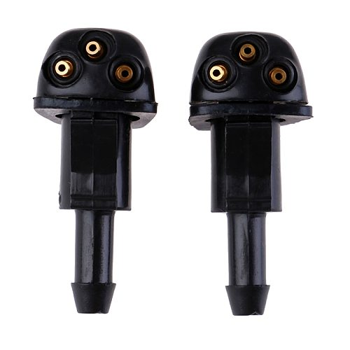 Hot sale 2Pcs Plastic high quality Windshield Wiper Washer Spray Nozzle
