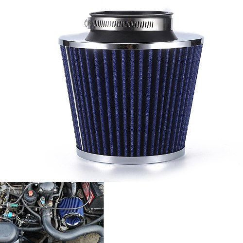 R-EP Car Air Filter 2.5/2.75/3inch for Universal Cold Air Intake High Flow 65mm 70mm 76mm Performance Breather Filters