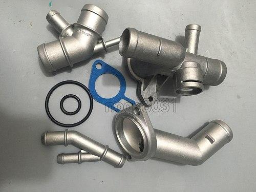 For MK4 Golf Jet ta GLI GTI TT 337 1.8T Cast Aluminum Coolant Flange Kits