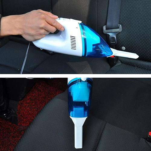 High-Power Four-In-One Car Vacuum Cleaner Portable Car Vacuum Cleaner Wet And Dry Use Vacuum Cleaner
