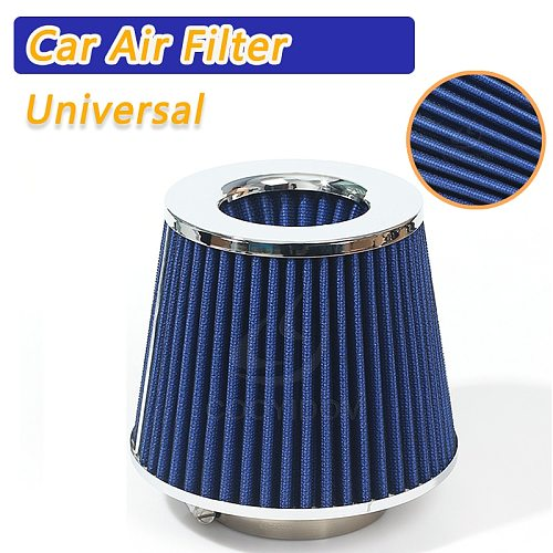 COOYIDOM Universal filtro aire  Car Air Intake Filter Induction Kit High Power Sports Mesh Cone Mushroom head Performance High