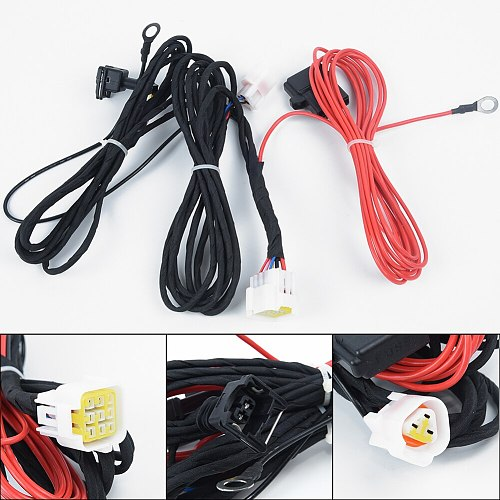 Split Diesel Air Heater Wiring Loom Power Supply Cable Adapter For Car Truck Separate Harness For Split Type