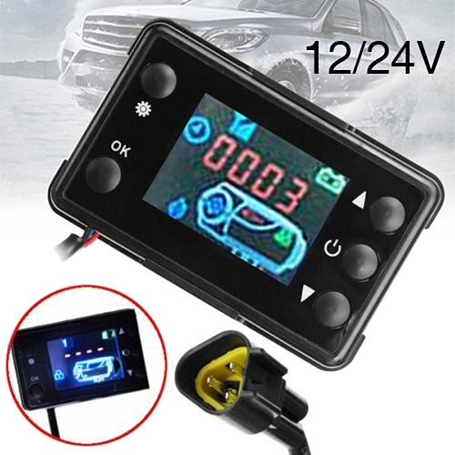 12V/24V Parking Air Diesel Heater ACCESSORIES - Switch Controller LCD Monitor Switch Parking Remote Control Rotary Switch