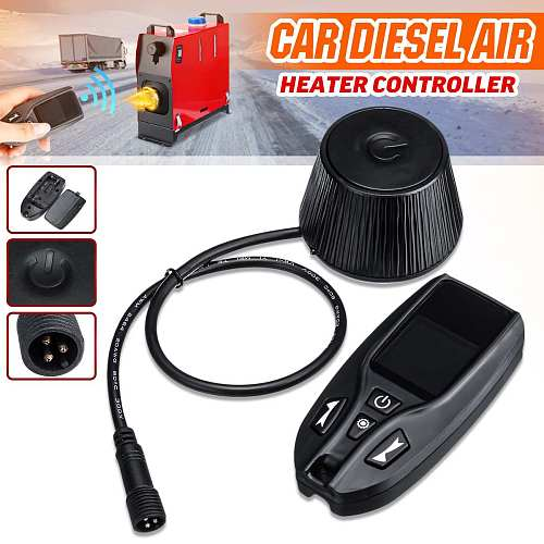 12V 24V Car Air Heater Remote Control LCD Monitor Switch Parking Heater Controller Thermostat for Diesel Heater