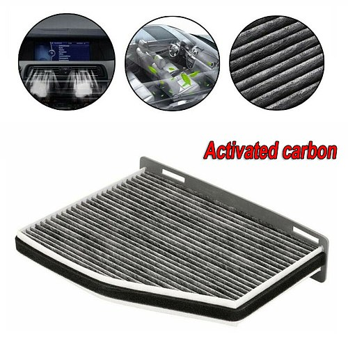 Activated Carbon Adsorption Car Filter For Golf Beetle For Tiguan A3 Q3 1K0819644 Car Cabin A/C Air Filter Car Accessories