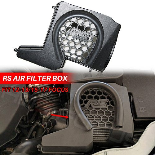 Air filter box for focus rs 2012-2018 kuga Inlet protection cover high quality car Accessories