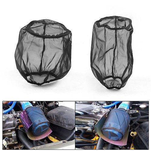 Universal Air Filter Protective Cover Waterproof Oilproof Dustproof for High Flow Air Intake Filters Air Filter Cover