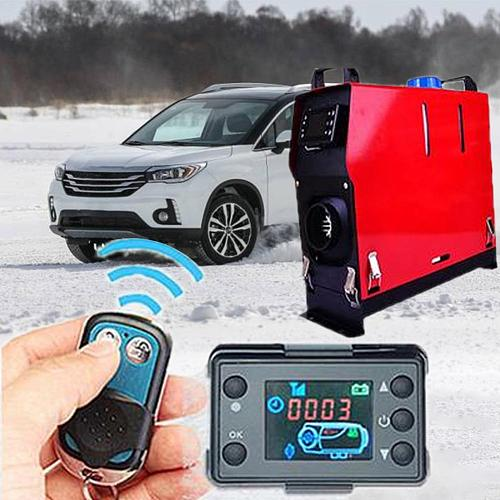 12V24V Parking Air Heater Car Heater Switch Controller Accessories LCD Monitor Switch Parking Heater Controller for Car Track Ai