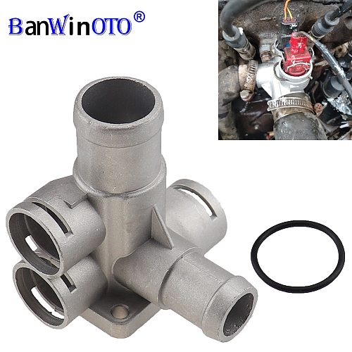 Aluminium Engine Cooling Radiator Coolant Hose Quick Connector For Audi Saloon VW Passast Golf Transporter Jetta 037 121 132B1