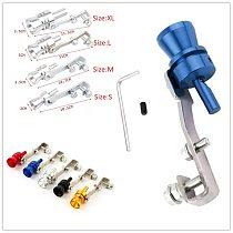 2020 Turbo Whistle Car Exhaust Sound Amplifier Mufflers Cars Turbo Simulator Car Freeflow Exhaust Muffler Tips Turbo Sound