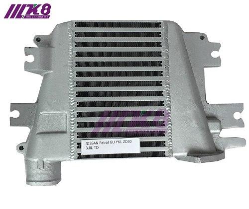 Intercooler Upgrade For Nissan Patrol GU Y61 ZD30 3.0L TD 97-07 Top Mount