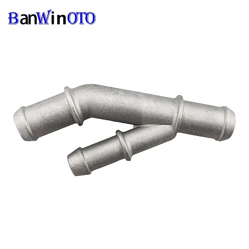 Aluminium Alloy Cooling Coolant T-Fitting Hose Pipe Connector For MK4 Golf Jetta Bettle A3 S3 TT 1.8T 1J0 121 087E 1J0 122 109AQ