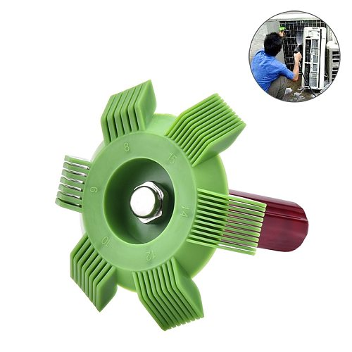 ESPEEDER Universal Car A/C Radiator Condenser Evaporator Fin Straightener Coil Comb Plastic Auto Cooling System Repair Tools