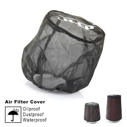 Universal Air Filter Protective Cover Dustproof Oil-proof Protective Cover for High-flow Air Inlet Filters Car Accessories
