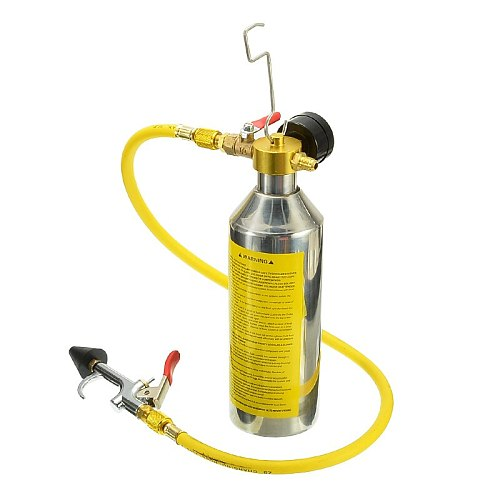 Vehicle Car air conditioning pipe cleaning bottle A/C Flush Kits Canister For Clean Gun Tool