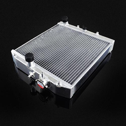 LZONE - 3 Row 52MM Full Aluminum Radiator For HONDA CIVIC B18C/B16A MT 32MM IN/OUT JR-SX104