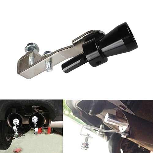 Universal Car Turbo Sound Whistle Muffler Exhaust Pipe 23mm Fake Blow-off Valve BOV Simulator Whistler Auto Accessories
