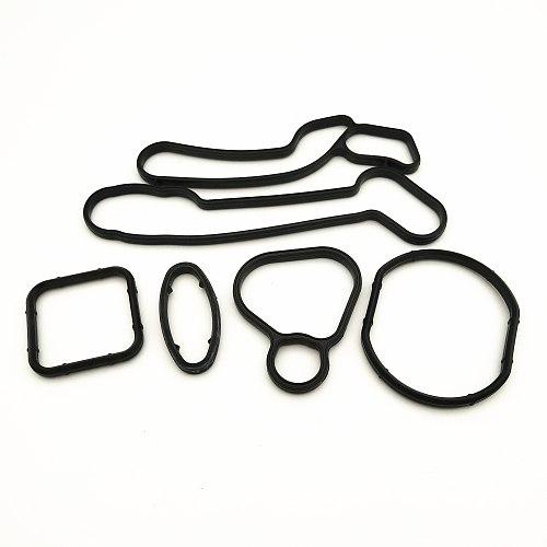 Original Korea General Oil Cooler Repair Kits Gaskets For Chevrolet Cruze Opel Orlando Astra 93186324 55353322 55353320 15-5151