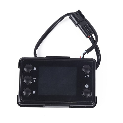 Car LCD Heating Controller Switch Monitoring Parking Air Diesel Heater 12V 24V AC Heaters Controls Accessory