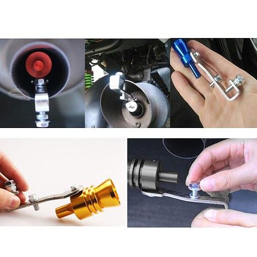 Universal Car Turbo Whistle Car Refitting Turbo Whistle Exhaust Pipe Sound Turbo Tail